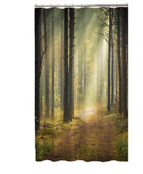 Forest FABRIC SHOWER CURTAIN $9.87