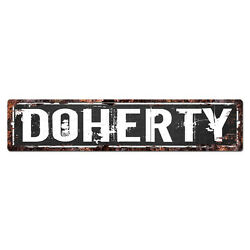 SLND1191 DOHERTY MAN CAVE Street Rustic Chic Sign Home man cave Decor Gift $20.95