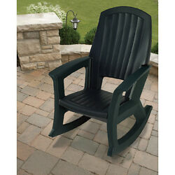 Front Porch Furniture Rocking Chair Big And Tall Patio 600 LB Capacity Deck NICE