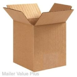 50 - 6 x 6 x 8 Corrugated Shipping Boxes Packing Storage Cartons Cardboard Box