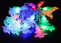 2 of Multi Color Christmas Indoor 12.5FT 28 String Lights for Tree Party