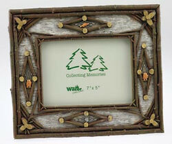 Set of Two FRAME BIRCH TWIG FISH 5