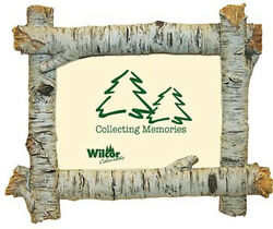 Set of Two BIRCH FRAME LOGS 6