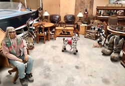 COWBOY INDIAN WESTERN MOLESWORTH STYLE FURNITURE COLLECTION SET BEAUTIFUL! WOW!