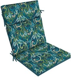 Garden Treasures Damask Replacement Cushion for Outdoor Patio High-Back Chair