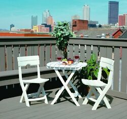 Folding Patio Dining Set Chair Outdoor Furniture Deck Seat Garden Durable Table