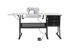 Studio Designs 13362 Eclipse Hobby Sewing Center with SINGER 3232 Simple Sewi...