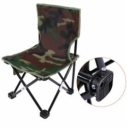 Portable Folding Fishing Chair Outdoor Camping Chair Stable Beach Picnic Chair