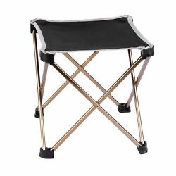 Folding Fishing Picnic Square Camping Stool Outdoor Foldable Garden Chair Tool