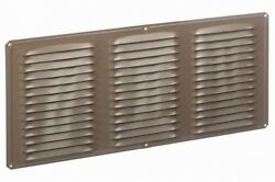 Air Vent 8-in L Brown Aluminum Soffit Vent
