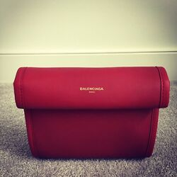 Balenciaga Tools Satchel XS In Burgundy Red - Brand New W Tags