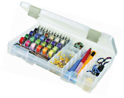ArtBin Sew-Lutions BobbinSupply Box - Clear Sewing Storage Container 6911AB