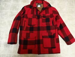 GREAT COND NOT MUCH USED VINTAGE WOOLRICH HEAVY WOOL HUNTING JACKET USA MADE 38
