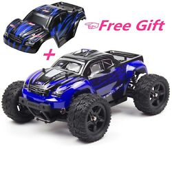 REMO 1 16 4WD RC Monster Truck Brushed Off Road 2.4Ghz Remote Control Car RTR $65.98