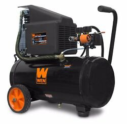 WEN 2287 6 Gallon Oil Lubricated Portable Horizontal Air Compressor $128.44
