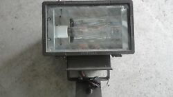 Hubbell Flood Light 400W Industrial Lighting With used bulb