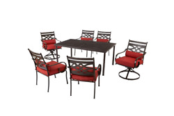 PICKUP ONLY Hampton Bay Middletown 7-Piece Patio Dining Set hd2