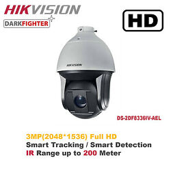 NEW!!!Hikvision 3MP 36X Outdoor Smart IR PTZ Speed Dome Camera w Smart Function