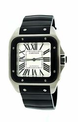 PRE-OWNED CARTIER SANTO 100 EXTRA LARGE WATCH