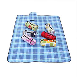 Large Waterproof Outdoor Rug Beach Garden Camping Picnic Mat Pad Folding Blanket