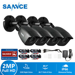SANNCE Full 1080P Outdoor Camera IR Day Night Security System for TVI CCTV DVR $43.69