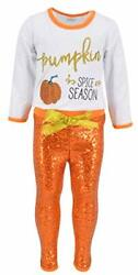 US Halloween Boutique Toddler Kids Girl Tops Pants Leggings Outfits Set Clothes $14.99