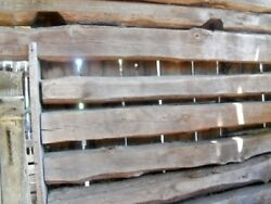 19cReclaimed Oak Barn Beams 21 ft length 8