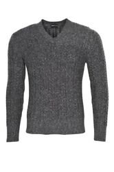 Tom Ford Pullover Men's 46 Gray Cashmere   knitted