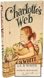 E. B. White - Charlotte's Web - SIGNED AND INSCRIBED BY THE ILLUSTRATIOR
