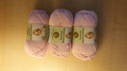 3-Pack Lion Brand Superwash Merino Cashmere Blend Yarn in Blossom