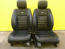 2006-2011 MERCEDES-W164-ML63-AMG-FRONT SEATS LEATHER VENTED SEAT CUSHION OEM