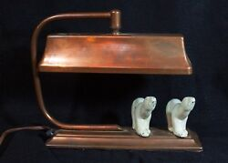 Art Deco Polar Bear Lamp