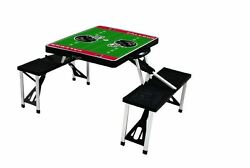 Sport Patio Picnic Table Yard garden Outdoor Folding camping Portable w chair