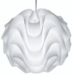 NUEVO HGVF109 Meringue Matte White Modern Pendant Light Lamp 17'' Wide LED USA $179.99