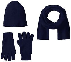 Luxurious Men's Hat Glove Scarf Gift Box Set 100% Cashmere Soft Warm Comfortable