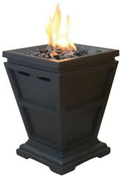 UniFlame Tabletop 15 in. Propane Gas Fire Pit Outdoor Fireplace