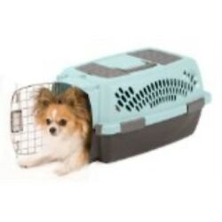Aspen Pet Pet Porter Plastic Kennel Up to 10 Pounds Blue Air Coffee Grounds. $41.16