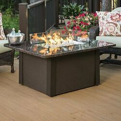 Outdoor Great Room GS-1224-BRN-K Grandstone Fire Pit Napa Valley Brown