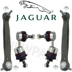 For Jaguar X-Type Pair Set of 2 Front & Rear Susp. Stabilizer Sway Bar Links