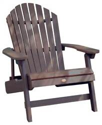 Outdoor Folding King Hamilton Adirondack Chair in Acorn [ID 3368171]