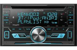 Kenwood 2-DIN Car Stereo CD Receiver Player with Bluetooth USB AUX - DPX503BT