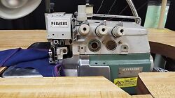 PEGASUS E32-542 2-Needle 5-Thread Serger Safety Stitch Industrial Sewing Machine