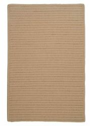 Simply Home Solid H330 Cuban Sand IndoorOutdoor Ultra Durable Rug by Colonial M