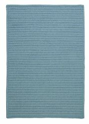 Simply Home Solid H101 Federal Blue IndoorOutdoor Ultra Durable Rug by Colonial