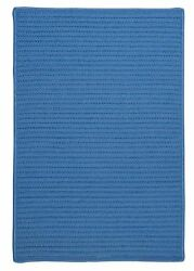 Simply Home Solid H870 Blue Ice IndoorOutdoor Ultra Durable Rug by Colonial Mil