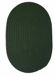 Boca Raton BR64 Dark Green IndoorOutdoor Rug by Colonial Mills