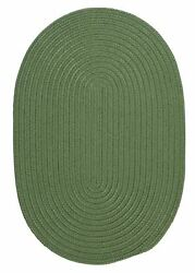 Boca Raton BR69 Moss Green IndoorOutdoor Rug by Colonial Mills