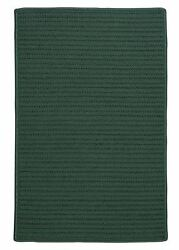 Simply Home Solid H459 Myrtle Green IndoorOutdoor Ultra Durable Rug by Colonial