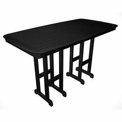 Nautical Bar-Height Outdoor POLYWOOD Table