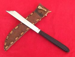 Tanto - Custom Knife - Exotic Design - (USA)  With Native American Style Sheath